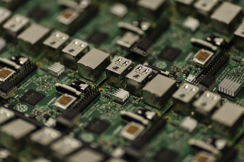 electronic hardware board